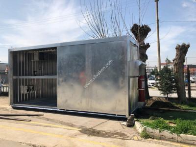 Ex-Proof Klima / Ex-Proof Fan / Yangın Söndürücü Sistem Konteyner