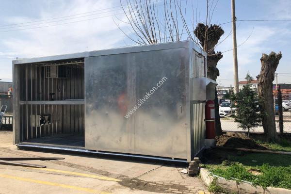 Ex-Proof Klima / Ex-Proof Fan / Yangın Söndürücü Sistem Konteyner 08