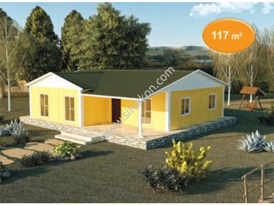 117 m² Tek Katlı Prefabrik Konut