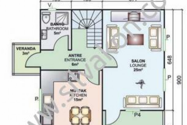 131 m² Çift katlı Prefabrik ev 02