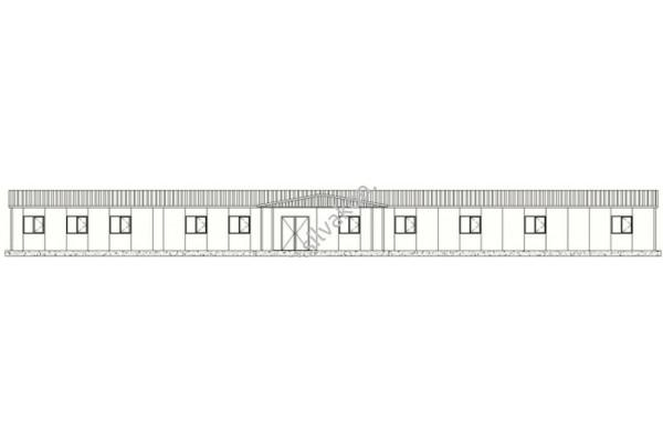 386 m2 Prefabrik Ofisler 03