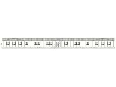 562 m2 Prefabrik Ofis