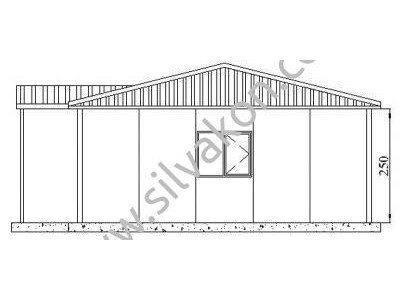 117 m2 Prefabrik Ofisler
