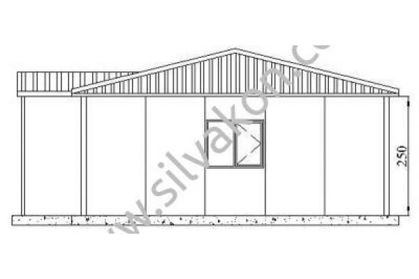 117 m2 Prefabrik Ofisler 01