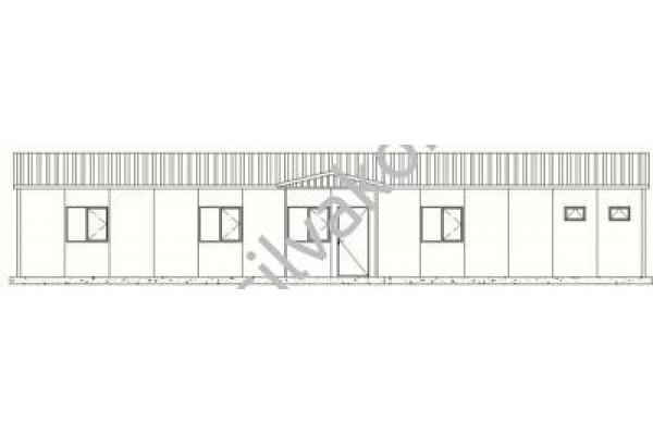 117 m2 Prefabrik Ofisler 02