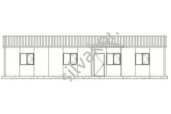 128 m2 Prefabrik Ofis 02