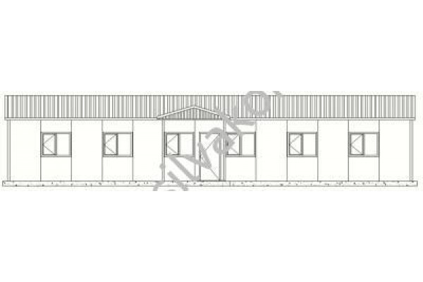 149 m2 Prefabrik Ofisler 01