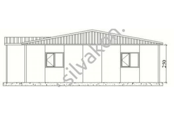 149 m2 Prefabrik Ofisler 03