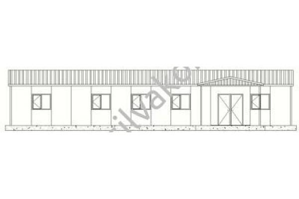159 m2 Prefabrik Ofis 01