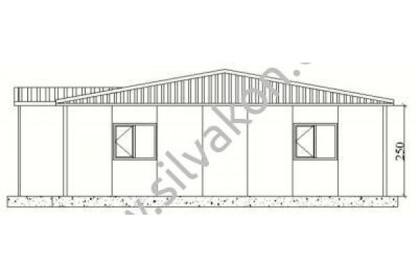 159 m2 Prefabrik Ofis 02