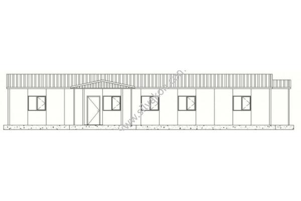 161 m2 Prefabrik Ofis 01