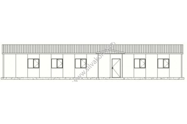 172 m2 Prefabrik Ofis 01