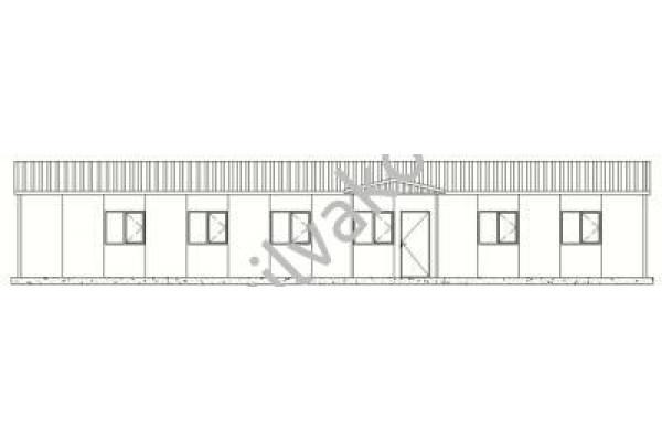 173 m2 Prefabrik Ofis 01