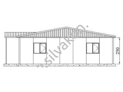 173 m2 Prefabrik Ofis