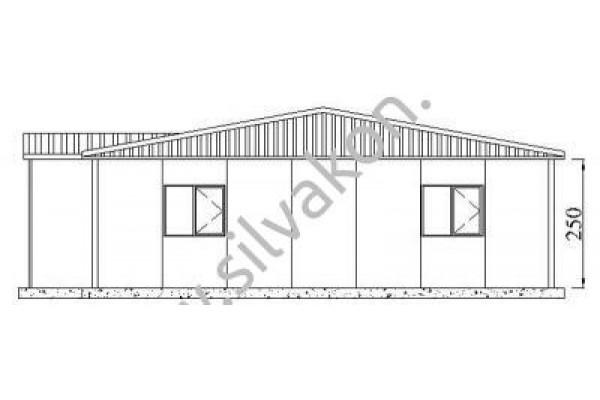 173 m2 Prefabrik Ofis 02