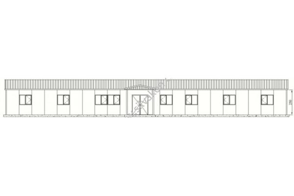 181 m2 Prefabrik Ofis 01