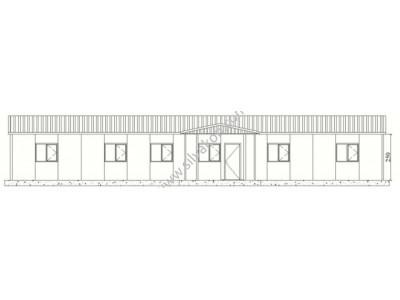 183 m2 Prefabrik Ofisler
