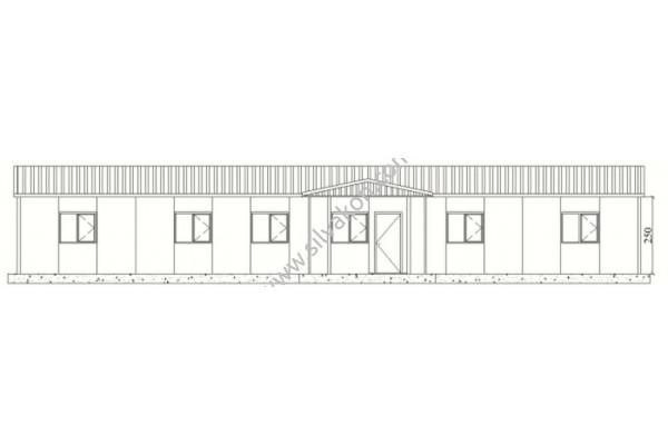 183 m2 Prefabrik Ofisler 01