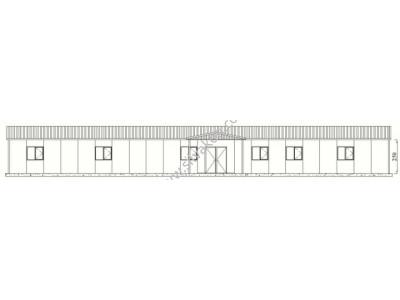 318 m2 Prefabrik Ofis