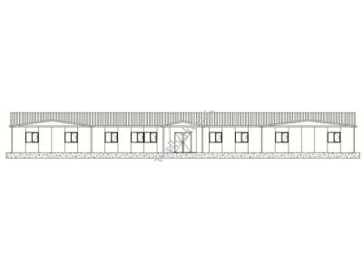 384 m2 Prefabrik Ofis