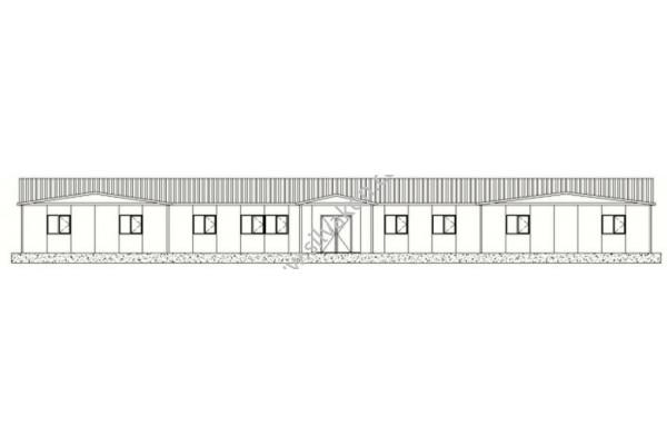 384 m2 Prefabrik Ofis 01