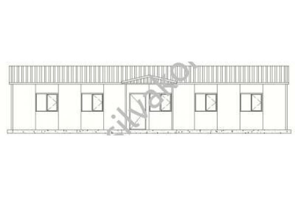 101 m2 Prefabrik Ofis 03