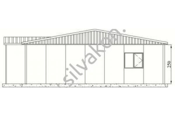 116 m2 Prefabrik Ofisler 01