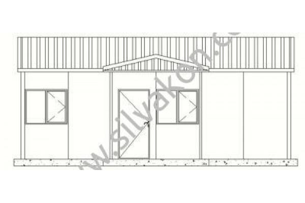 42 m2 Prefabrik Ofis 01