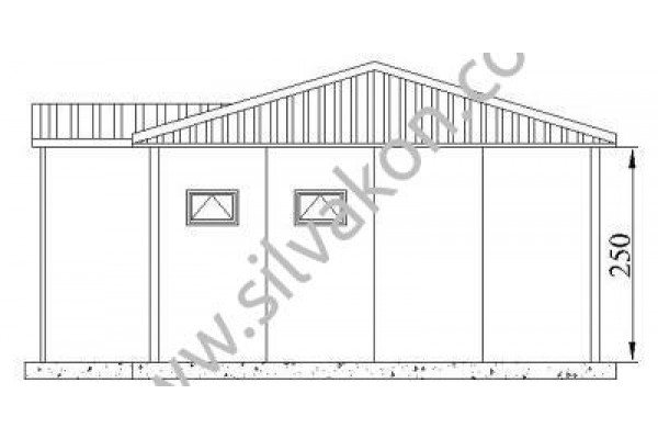 42 m2 Prefabrik Ofis 02