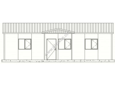 68 m2 Prefabrik Ofis