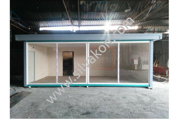 3x7m Full Camlı Ofis 01