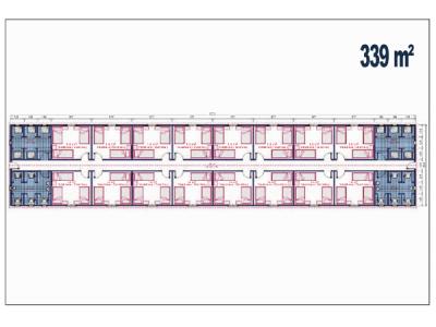 339 M2 Şantiye Birleşim Konteyner