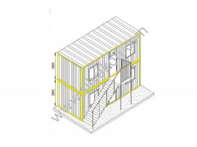 Ranza 120 Prefabrik Şantiye Binası