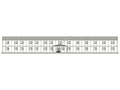 1140 m2 İki katlı Prefabrik ofis