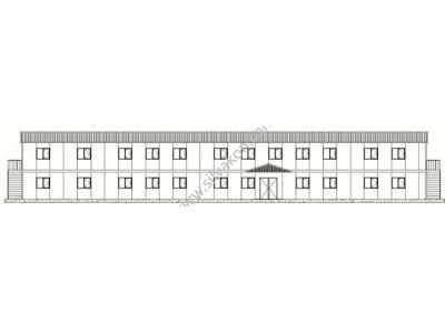 717 m2 iki Katlı Prefabrik Ofis