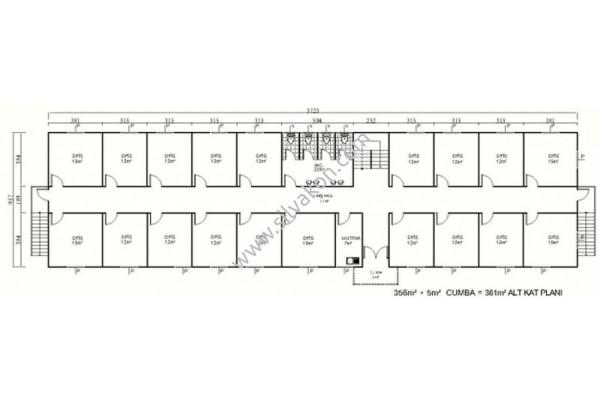 717 m2 iki Katlı Prefabrik Ofis 03